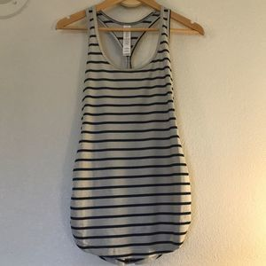 New Balance Dry Striped Fitted Tank
